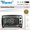 TOYOMI Convection Oven 19.0L [Model: TO 1919RC] - Official TOYOMI Warranty Set. 1 Year Warranty. Sole Distributor In Singapore. BEST PRICE.