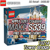 [MAKE $339! FREE SHIPPING!!] LEGO Creator Tower Bridge 10214