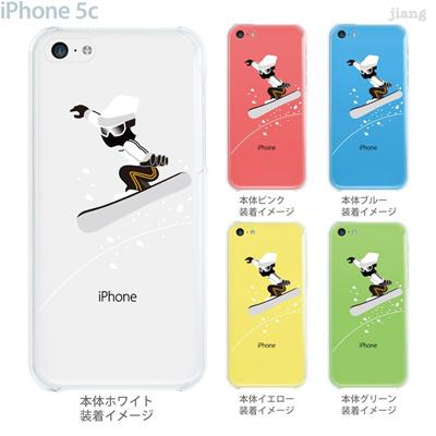 【iPhone5c】【iPhone5c ケース】【iPhone5c カバー】【ケース】【カバー】【スマホケース】【クリアケース】【クリアーアーツ】【スノーボード】 10-ip5c-ca0089の画像
