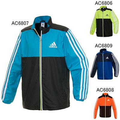 アディダス (adidas) KIDS TCOS SPORTSウインドジャケット BBQ62 [分類:ウインドブレーカー 上 (ジュニア)]の画像