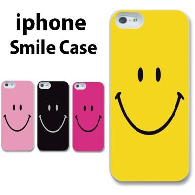 特殊印刷/iPhone6 Plus/iphone6(4.7インチ)/iphone5/iphone5S/iphone5C(スマイリー)CCC-015【スマホケース/ハードケース/カバー】の画像