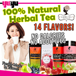 [One Day Only] Bundle of 3 for 11.50 LADIES TEA 午茶夫人 14 FLAVORS | Healthy | Slimming | 100% Organic
