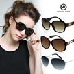 Michael Kors Sunglasses / 100% Authentic Free shipping UV protection Polarized Fashion Goods Glasses Optical Frame Asian fit EYESYS