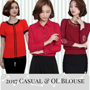 3in1 shipping! 2017 Blouses Collection! Premium Quality/ Korean Blouse/ OL Blouse/ Office Blouse/ Casual Blouse