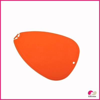 【日用品】 chaeum silicone シリコンカッティングボード(L)HKS-095(O)の画像