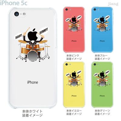 【iPhone5c】【iPhone5c ケース】【iPhone5c カバー】【ケース】【カバー】【スマホケース】【クリアケース】【クリアーアーツ】【Clear Arts】【ドラム】 10-ip5c-ca106の画像