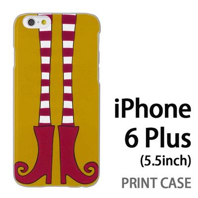 iPhone6 Plus (5.5インチ) 用『1000 細足ブーツ 若草』特殊印刷ケース【 iphone6 plus iphone アイフォン アイフォン6 プラス au docomo softbank Apple ケース プリント カバー スマホケース スマホカバー 】の画像