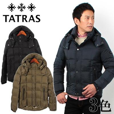 TATRAS タトラス AIUS アエネス フード付き ダウン ジャケット MTA 15A4219 メンズの画像