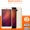 [XIAOMI] Redmi Note 4 Smartphone | 16GB and 64GB ROM | White / Grey / Gold | 13MP Camera | MIUI 8.0 | Export Set with Warranty Option