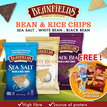 [Beanfield Bean Chip][3 Delicious Flavors] Buy 1 x 100g Bag + 1 FREE Poco Loco Tortilla Chip!!