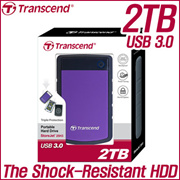 [Super Sale for 2TB!!] TRANSCEND Portable HDD 2TB Store-Jet 25H3 USB 3.0 warrnaty 3year