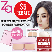 50%OFF NOW! 🌟$5 REBATE!!! 🌟 TheBeautyQueen x ZA [Shiseido] 2 Way Foundation- True White / Perfect Fit/ Perfect Solution Youth Whitening Serum (30ml)/True White Day Protector