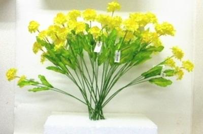 ●代引き不可送料無料菜の花 造花 24本セット92178の画像