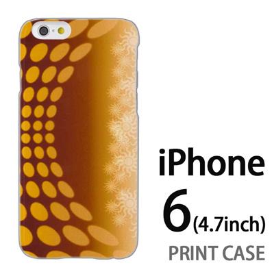 iPhone6 (4.7インチ) 用『No3 SUN』特殊印刷ケース【 iphone6 iphone アイフォン アイフォン6 au docomo softbank Apple ケース プリント カバー スマホケース スマホカバー 】の画像