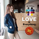BEST SELLER SUPER DAILY SALE **  Basic Jacket Hoodie UNISEX with Zipper** available in 16 colours 100% COMFY and STYLISH NewComebackSeller