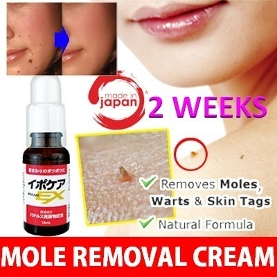 JAPAN Natural Formula Warts / Moles Removing Cream Deals for only Rp255.000 instead of Rp320.000