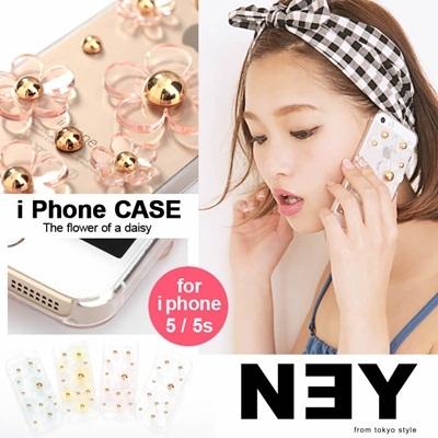 クリアデイジー iPhoneケース iPhone5 5s対応 418381 スマホケース クリア 取寄商品の画像