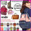 【*SG DISTRIBUTOR* INSTOCKS READY Buy 2 FREE Shipping】BEST SELLER ❤ 100% AUTHENTIC ANELLO BACKPACK ❤SUKINDOUGY  CNY gift/ pokemon / travel backpack/Large Capacity/ baby/ mummy/ kanken