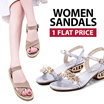 ALL ONE PRICE SANDALS women shoes Summer Favourites Heels Sandals Wedge slippers