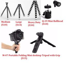 For Camera Flexible Tripod / GorillaPod / Spiderpod / Folding Grip
