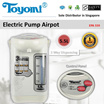 TOYOMI Electric Pump Airpot 5.5L [Model: EPA 559] - Official TOYOMI Warranty Set. 1 Year Warranty. Sole Distributor In Singapore. BEST PRICE.