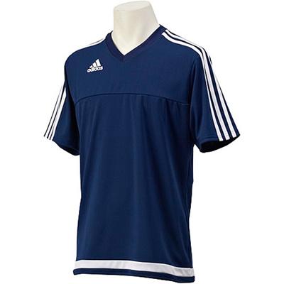 アディダス(adidas) TIRO15 Tシャツ KBV96 A96739 ダークブルー 【サッカー ウェア 練習着】の画像