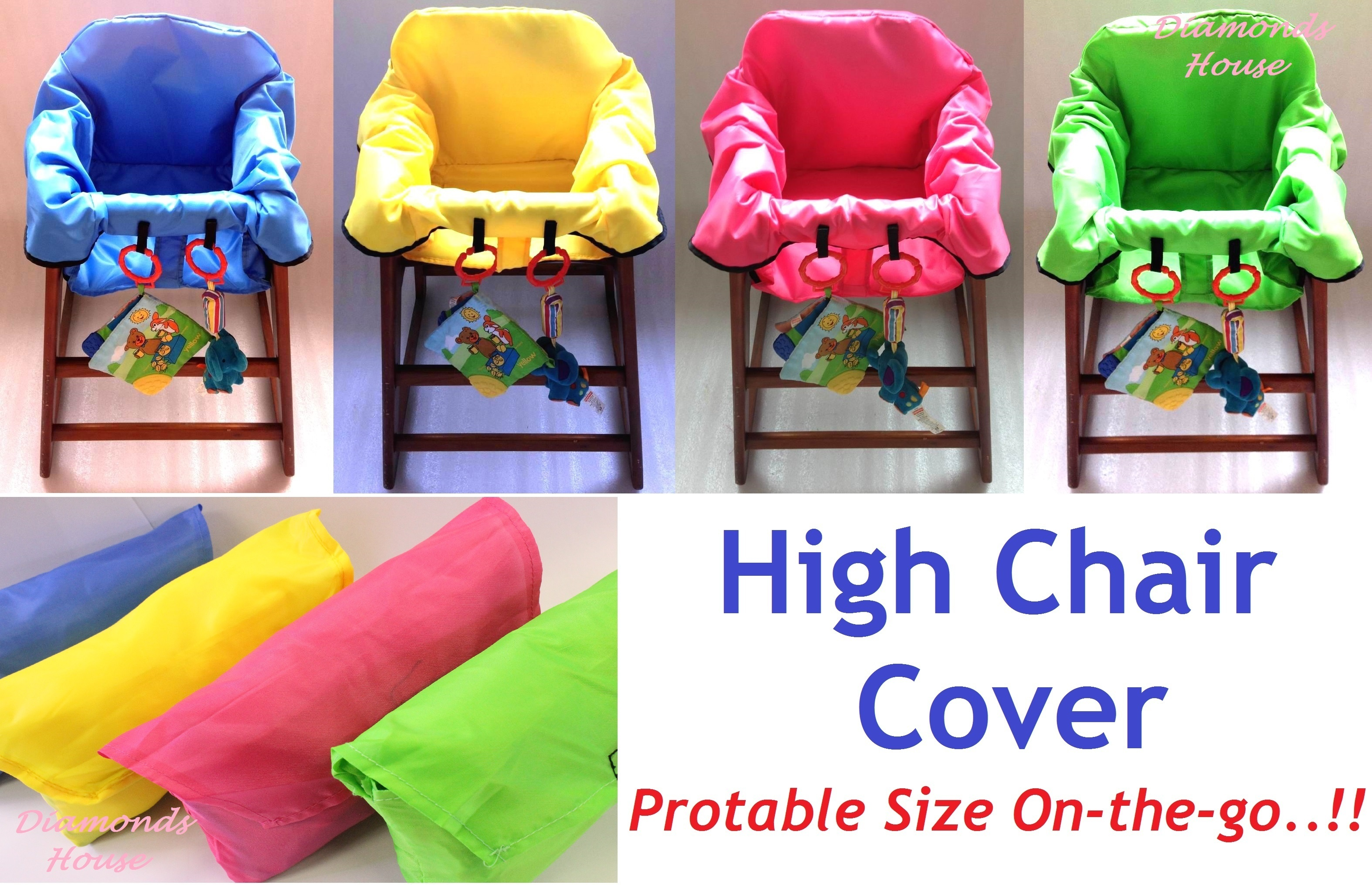 Qoo10 【BUY 1 FREE 2 Pcs Disposable High Chair Cover】 Baby