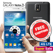 [Samsung] Galaxy Note 3 32GB 4G LTE (UNLOCKED)[refurbish]5.7inch Full HD Super Amoled White / Black Model SM-N900 Unlocked
