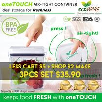 [SHOP + CART DISCOUNT!! | ecoWARE Airtight Container | BPA free | Milk | Powder |