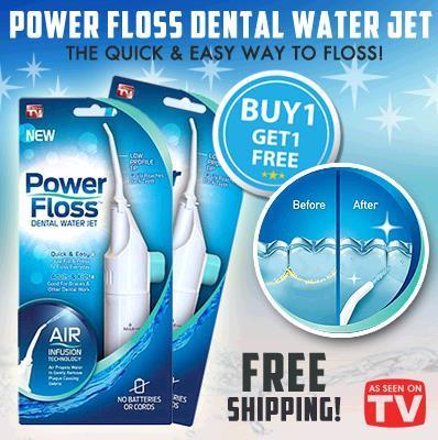 Power Floss Water Jet Rings