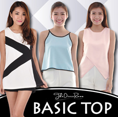 ★NEW ARRIVAL★Basic Tops★ Premium Hanako Box Pleat Chiffon OL Ladies Trendy Fashionable Office Casual Top/Blouse. Best Price! Fast Delivery!