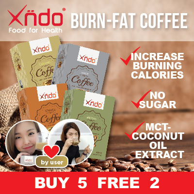 [$50 ONLY] 5+2 Burn Fat Coffee Deals for only S$118.65 instead of S$0