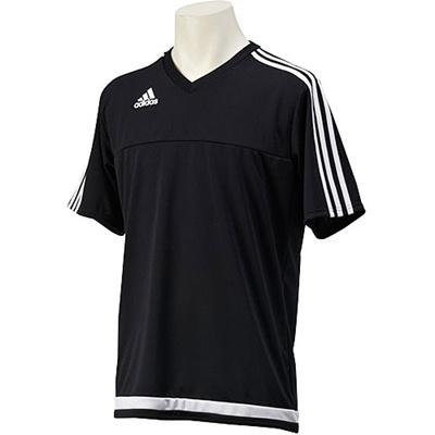アディダス(adidas) TIRO15 Tシャツ KBV96 A96740 ブラック 【サッカー ウェア 練習着】の画像