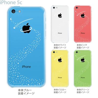 【iPhone5c】【iPhone5cケース】【iPhone5cカバー】【スマホケース】【クリア カバー】【クリアケース】【イラスト】【クリアーアーツ】【宇宙】 10-ip5cp-ca0011の画像