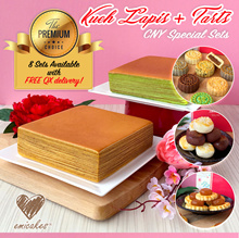 [Emicakes] CNY Special Sets: Kueh Lapis + Premium CNY Pineapple Tarts with FREE QX Delivery!
