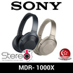 SONY MDR-1000X WIRELESS OVER-EAR HEADPHONES / EARPHONES / NOISE-CANCELLING