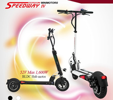 Futecher / Speedway 4 / Electric Scooter Dual Suspension ★ New Launch ★{ Export Set )