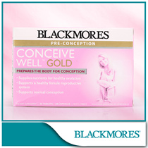 [BLACKMORES official e-store] Conceive Well Gold 28s+28s 56tabs