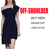 2017 NEW OFF-SHOULDER DRESS TOP COLLECTION