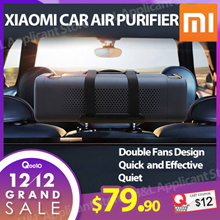 $12 COUPON Xiaomi car air purifier. Remove odour filter PM2 .5 harmful particles and bacteria