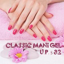Classic Manicure Gel (U.P. $32)