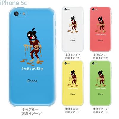 【iPhone5c】【iPhone5cケース】【iPhone5cカバー】【iPhone ケース】【クリア カバー】【スマホケース】【クリアケース】【イラスト】【クリアーアーツ】【ゾンビ】 10-ip5cp-ca0035の画像