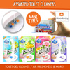 Toilet Gel Cleaner/Blue Bubble Toilet Cleaner/Toilet Air Freshener/fragrance mist/Fridge deodorizer