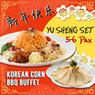 [Korean Corn BBQ] CNY Abalone Yu Sheng Set for 5-6pax