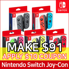 Nintendo Switch JOY-CON Controllers Set ★ Neon Blue / Neon Red / Grey / Neon Yellow