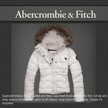 [アバクロンビーフィッチ][Abercrombie&Fitch]正規アバクロの最新作冬の中綿ダウンベスト&ジャケット入荷★内側が起毛で真冬でも暖かく着れるフード付きベスト