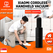💖SG SELLER💖[Xiaomi Cleanfly Car Dust Cleaner] Wireless Portable Vacuum Hand-Helded Mini Dust Ca