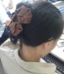 【送料無料】Sweetな リボンヘアクリップ挟むだけで誰でも「後ろ髪美人」の画像