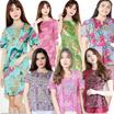 24 FEB !! BATIK DRESS BLOUSE CHEONGSAM JUMPSUIT CULLOTE - Pastel n Bright Colors - Gaun Batik Modern