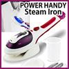 Power Portable Handy Steam Iron  Steamer Heat Control / Cleaner Stick or Handy